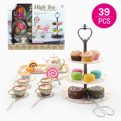 Fancy Tea Party Set With Accessories
