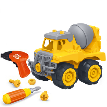 Take Apart Cement Truck