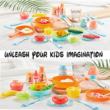 Interactive Kids Kitchen Set 42 PCS