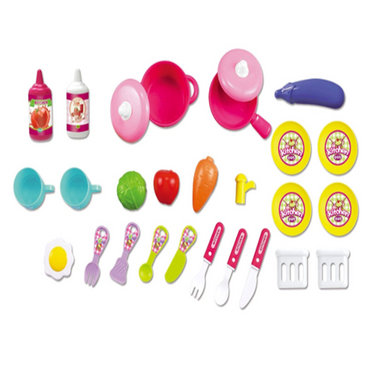 Little Chef Suitcase Kitchen Set