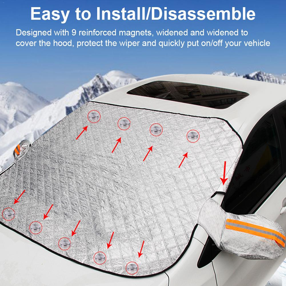 Car sunscreen insulated sunblind windshield sunshade