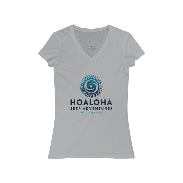 Women's Jersey Short Sleeve V-Neck Tee