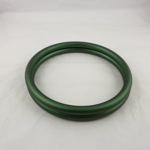 Matte Evergreen Aluminium Sling Rings