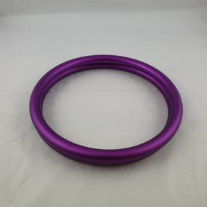 Matte Purple Aluminium Sling Rings