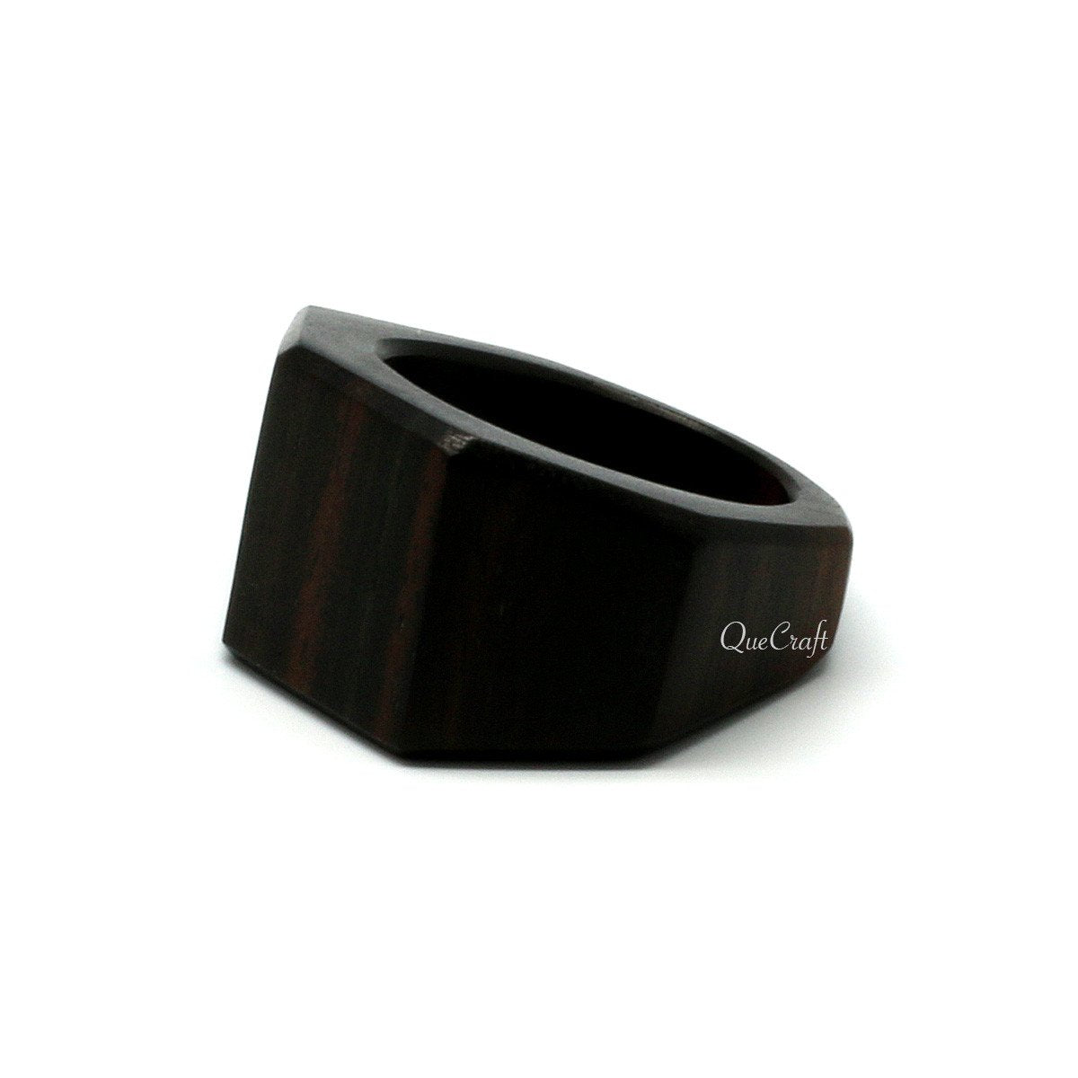 Ebony Ring #10194 - HORN.JEWELRY