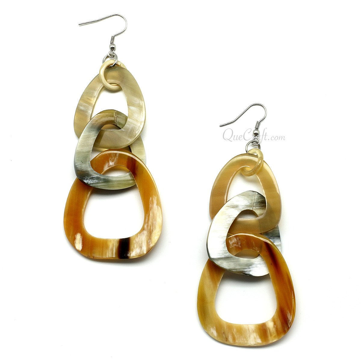 Horn Earrings #11542 - HORN.JEWELRY