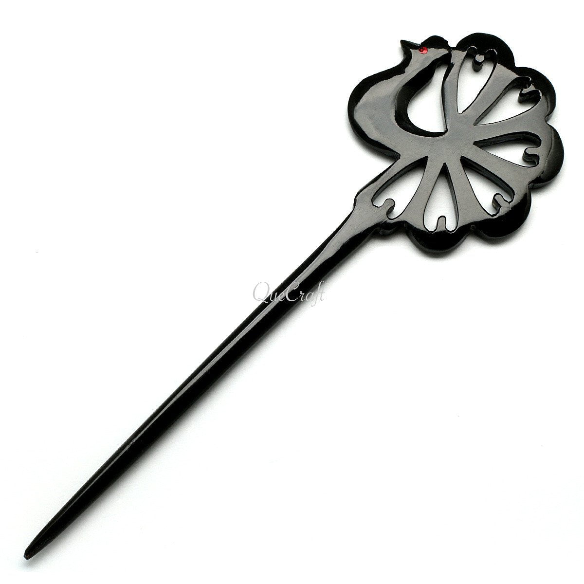Horn Hair Stick #10553 - HORN.JEWELRY