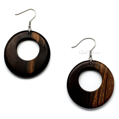 Ebony Earrings #10291 - HORN.JEWELRY