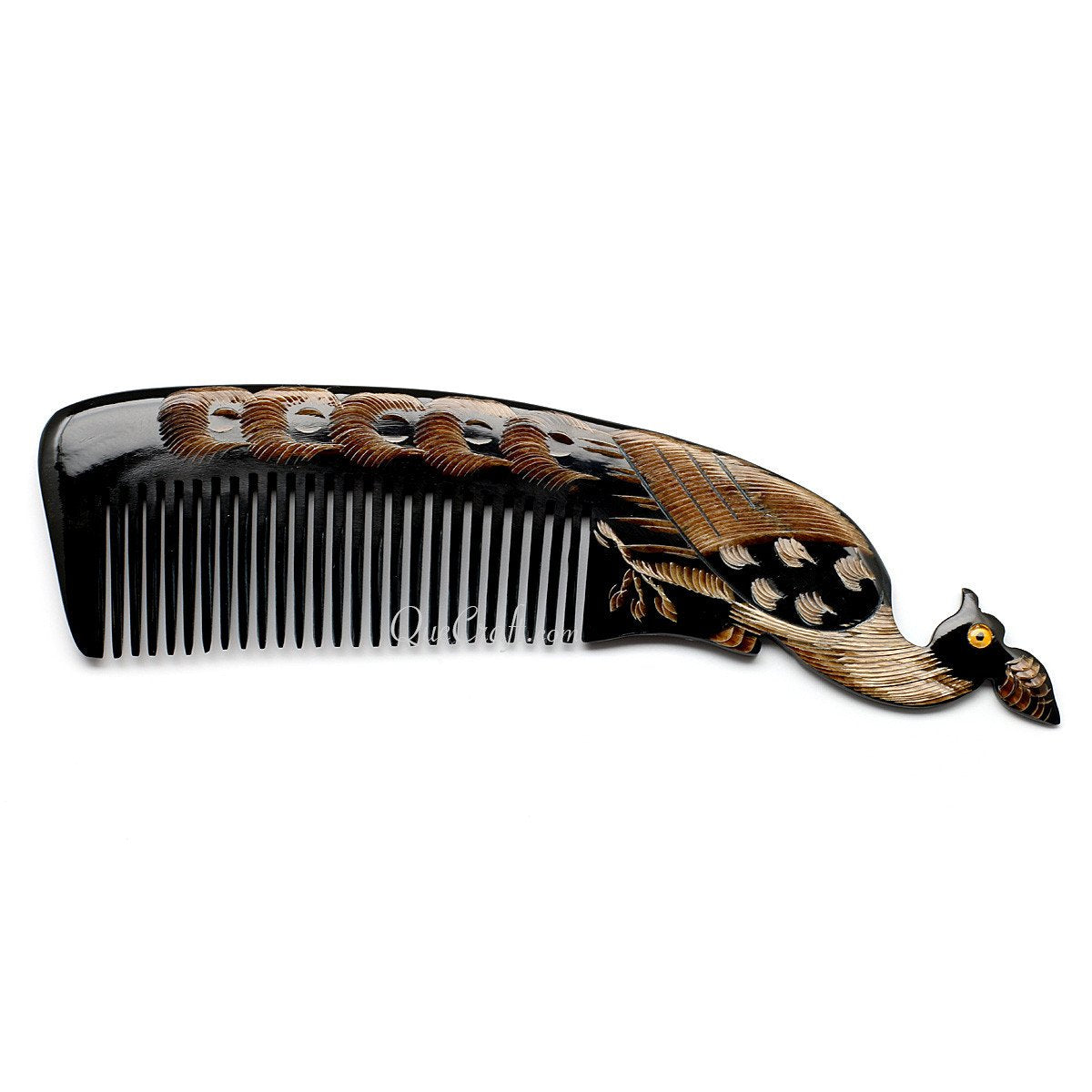 Horn Hair Comb #10685 - HORN.JEWELRY