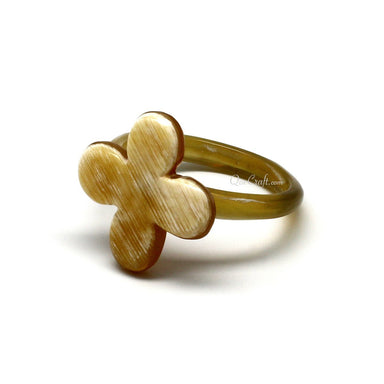 Horn Ring #10400 - HORN.JEWELRY by QueCraft
