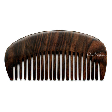 Ebony Hair Comb #10698 - HORN.JEWELRY