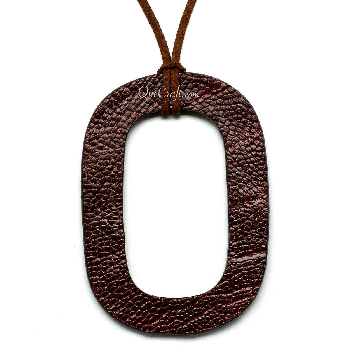 Leather Pendant #11070 - HORN.JEWELRY