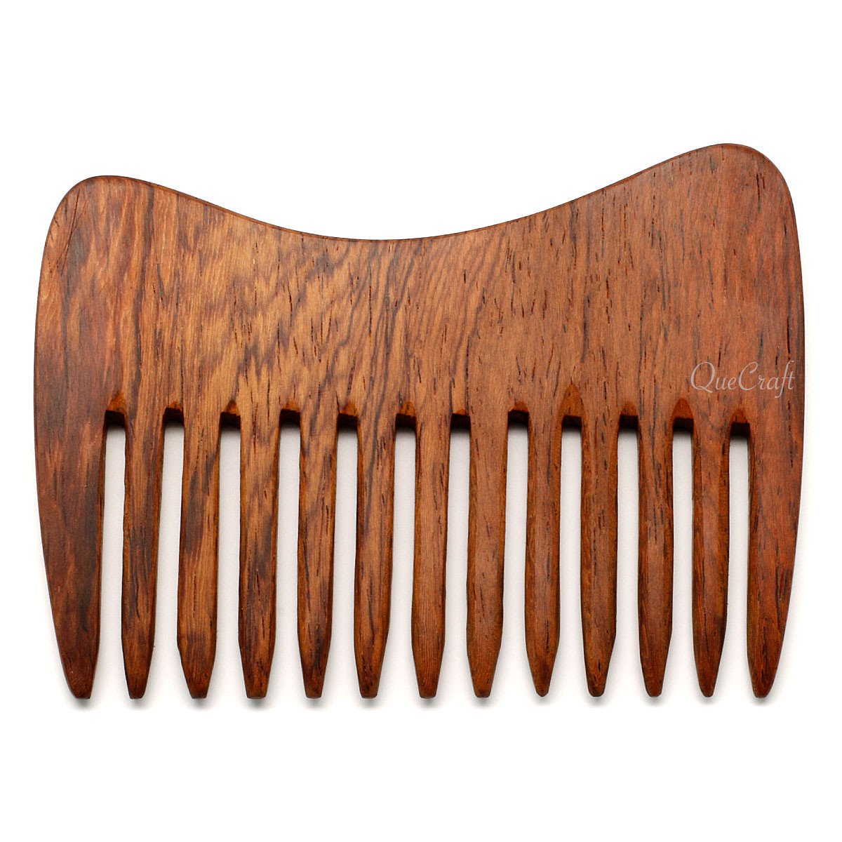 Rosewood Hair Comb #5594 - HORN.JEWELRY