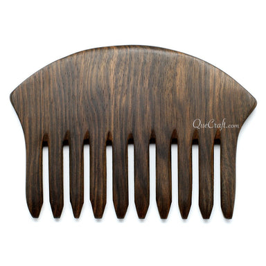 Ebony Hair Comb #10697 - HORN.JEWELRY