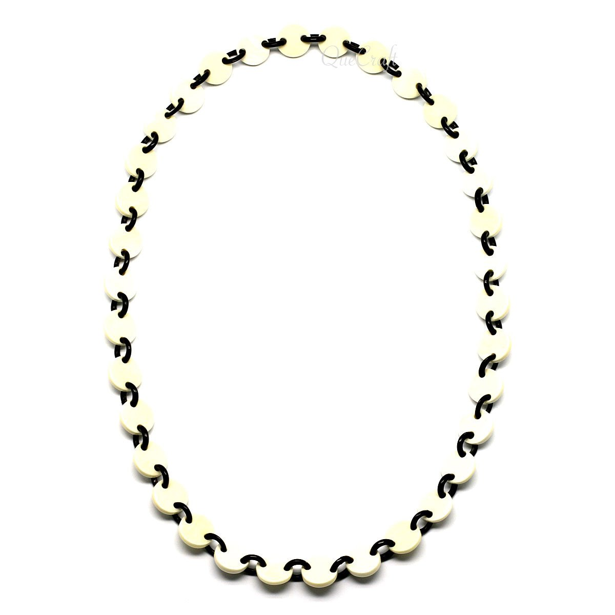 Bone & Horn Chain Necklace #6620 - HORN.JEWELRY