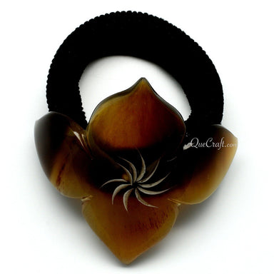 Horn Ponytail Holder #10705 - HORN.JEWELRY