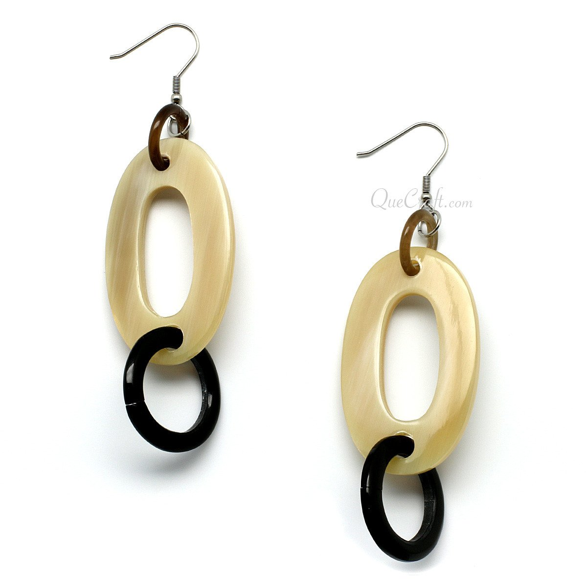 Horn Earrings #9989 - HORN.JEWELRY by QueCraft