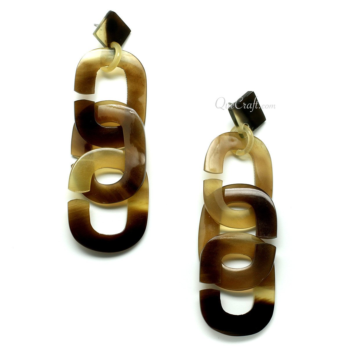 Horn Earrings #11466 - HORN.JEWELRY