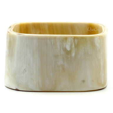 Horn Bangle Bracelet #10269 - HORN.JEWELRY by QueCraft