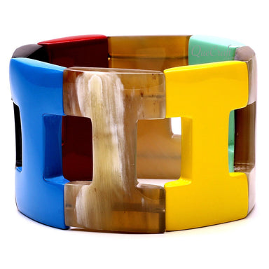 Horn & Lacquer Bracelet #12735 - HORN.JEWELRY