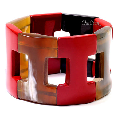 Horn & Lacquer Bracelet #12736 - HORN.JEWELRY