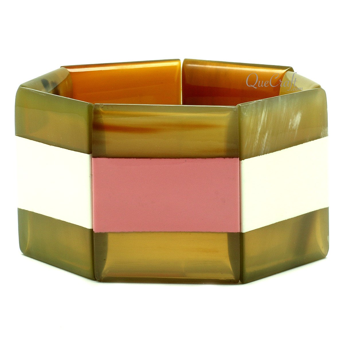 Horn & Lacquer Bracelet #12849 - HORN.JEWELRY