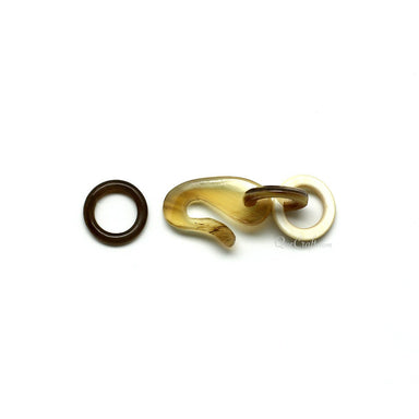 Horn Toggle Clasp #11529 - HORN.JEWELRY