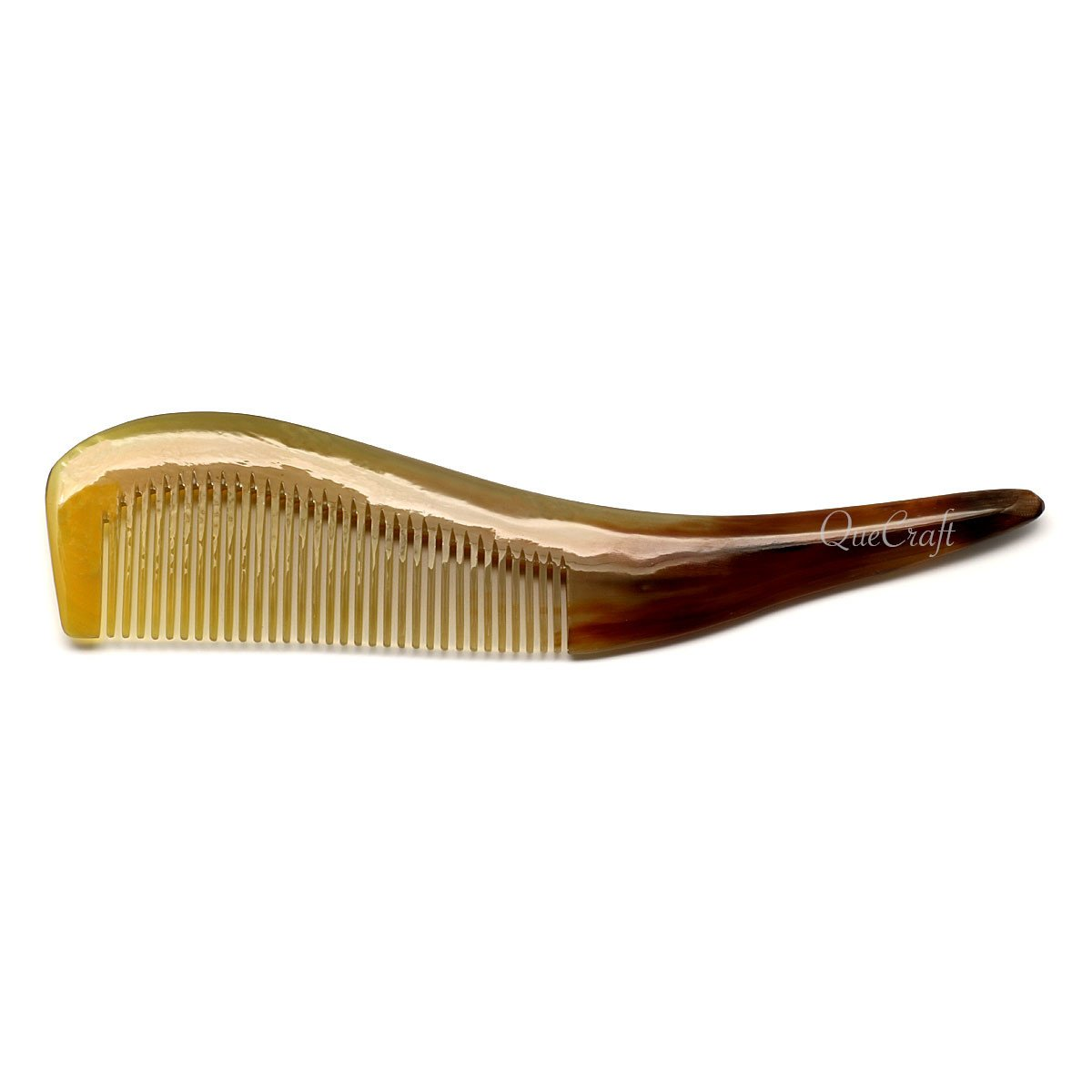Horn Hair Comb #5560 - HORN.JEWELRY