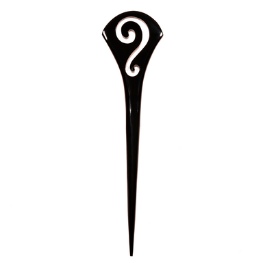 Horn Hair Pin #14172 - HORN.JEWELRY