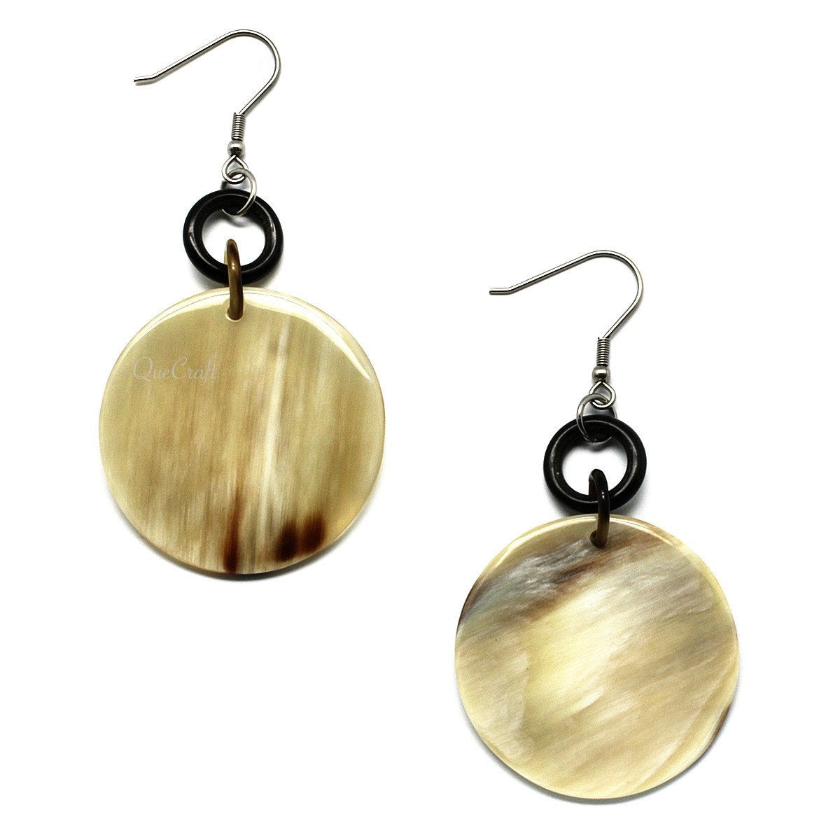 Horn Earrings #6094 - HORN.JEWELRY