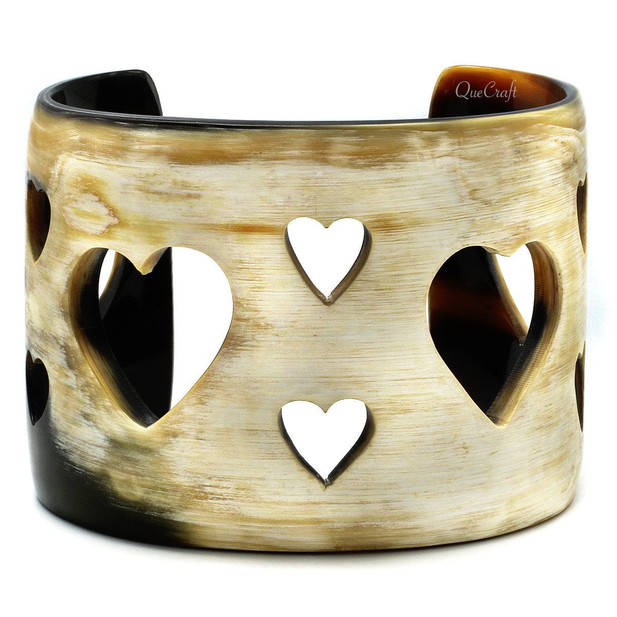 Horn Cuff Bracelet #4551 - HORN.JEWELRY by QueCraft