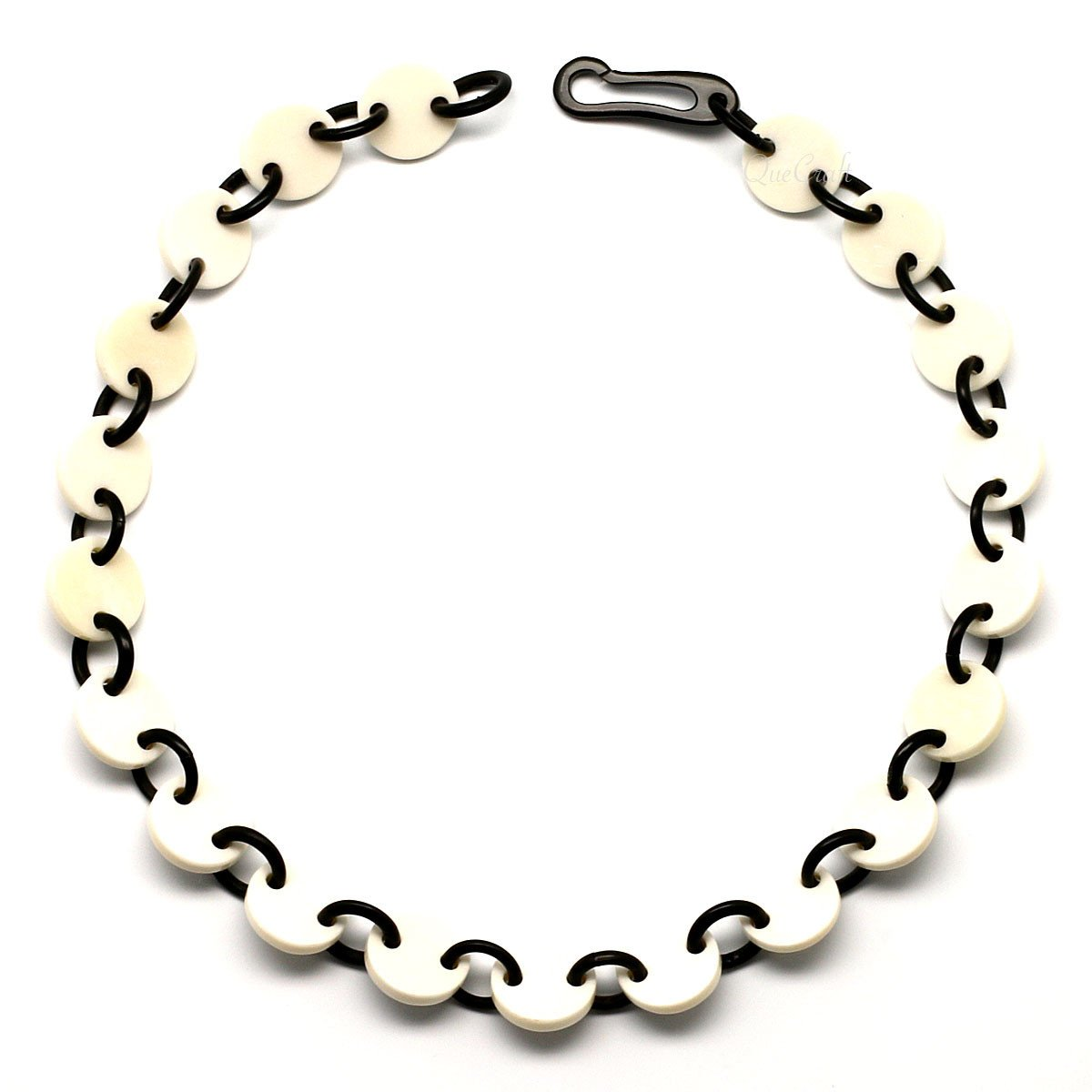 Bone & Horn Chain Necklace #4277 - HORN.JEWELRY