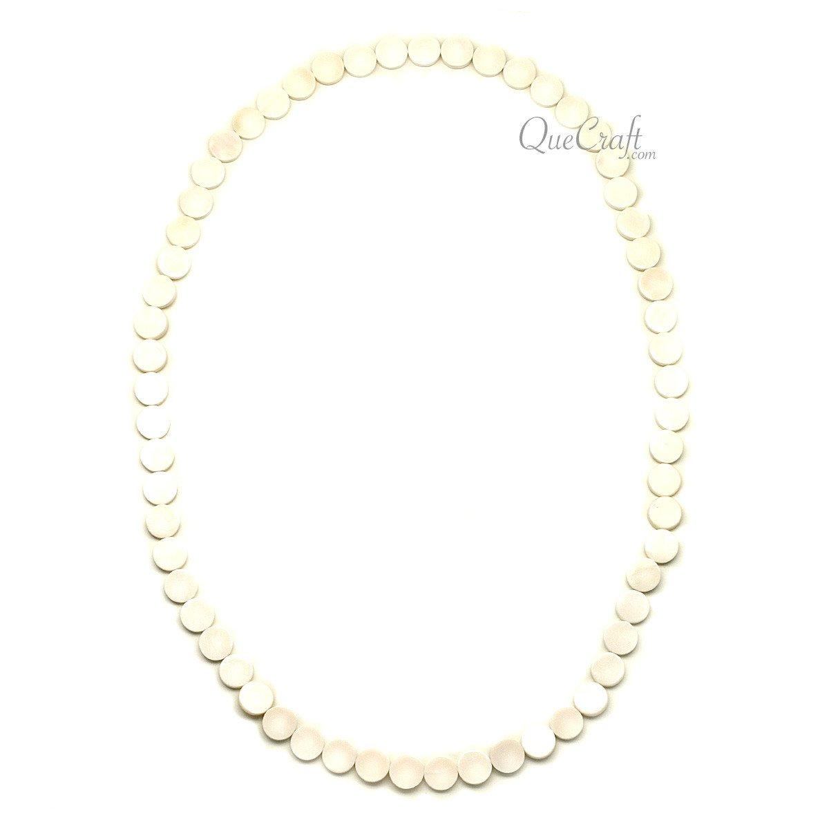 Bone Chain Necklace #12218 - HORN.JEWELRY by QueCraft