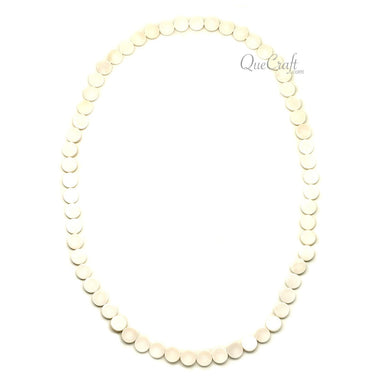 Bone Chain Necklace #12218 - HORN.JEWELRY