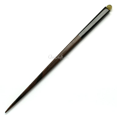 Ebony & Horn Hair Stick #10744 - HORN.JEWELRY