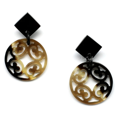 Horn Earrings #10290 - HORN.JEWELRY by QueCraft