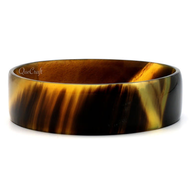 Horn Bangle Bracelet #9388 - HORN.JEWELRY by QueCraft