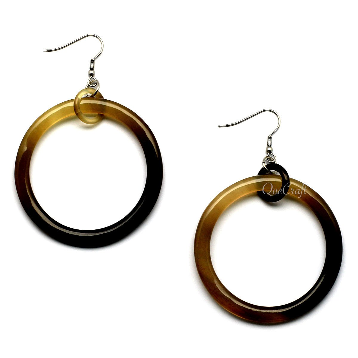 Horn Earrings #6642 - HORN.JEWELRY