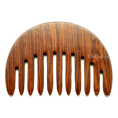 Rosewood Hair Comb #10699 - HORN.JEWELRY