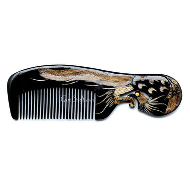 Horn Hair Comb #10674 - HORN.JEWELRY