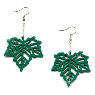 Horn & Lacquer Earrings - Q4949