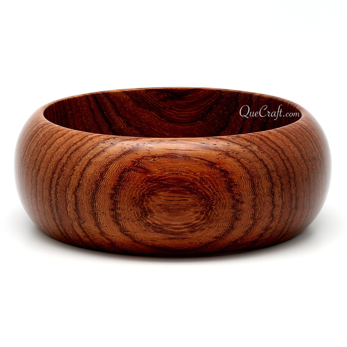 Rosewood Bangle Bracelet #9933 - HORN.JEWELRY by QueCraft