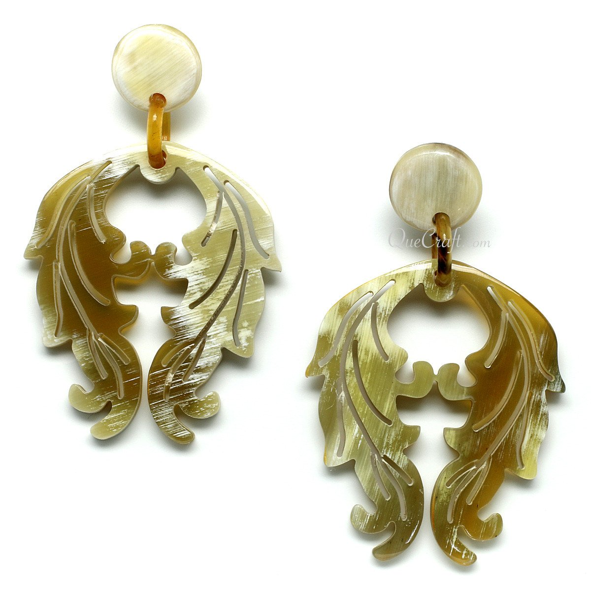 Horn Earrings #11629 - HORN.JEWELRY