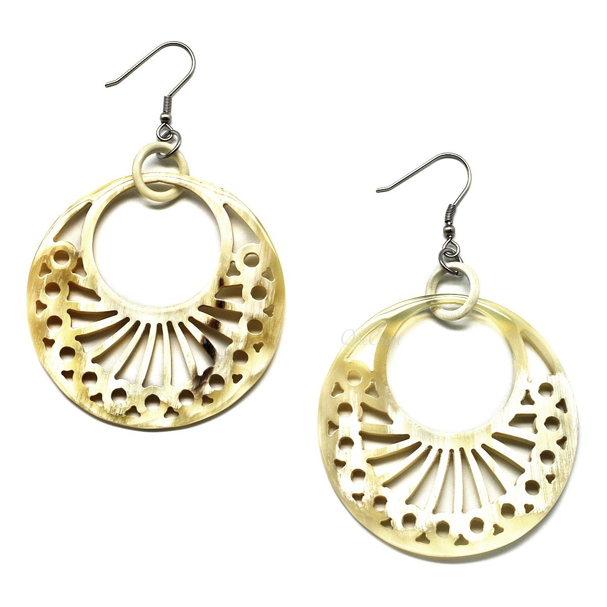 Horn Earrings #6138 - HORN.JEWELRY
