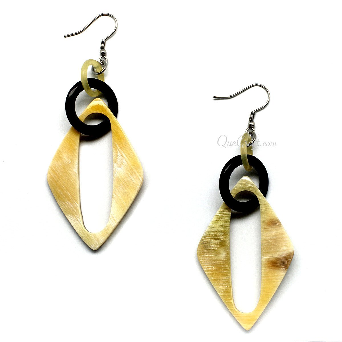 Horn Earrings #10008 - HORN.JEWELRY