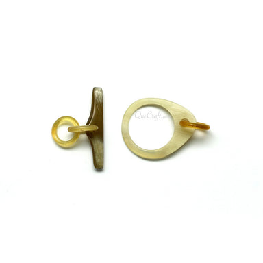 Horn Toggle Clasp #11526 - HORN.JEWELRY