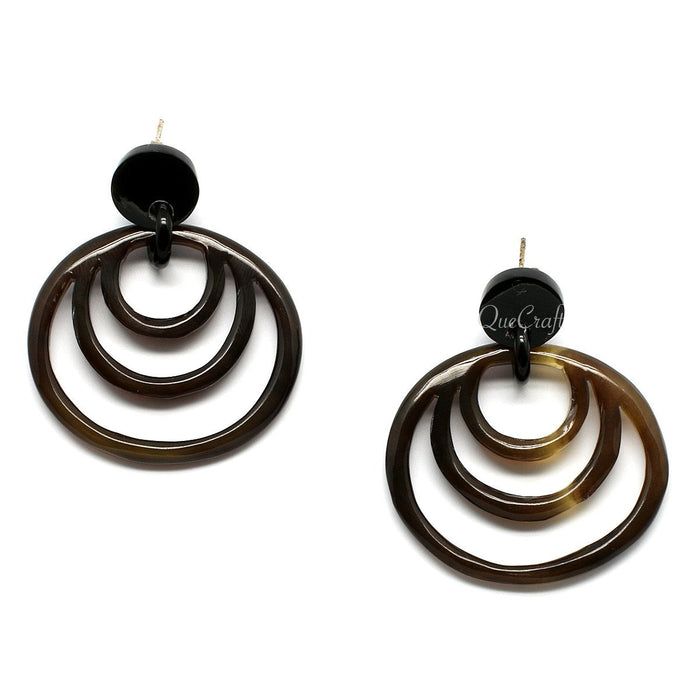 Horn Earrings #9740 - HORN.JEWELRY