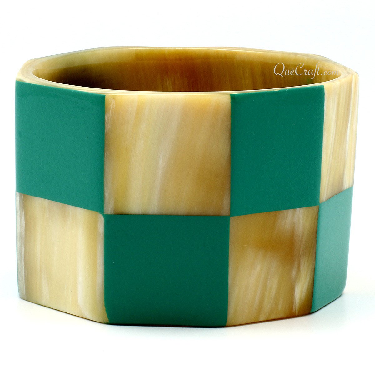 Horn & Lacquer Bangle Bracelet #11176 - HORN.JEWELRY