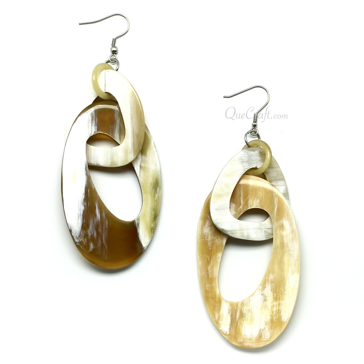 Horn Earrings #11541 - HORN.JEWELRY
