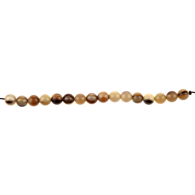 Horn Bead Strand #14089 - HORN.JEWELRY by QueCraft